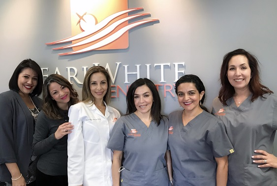 Fort Lauderdale Dentist Dr. Natalia and her dental office team